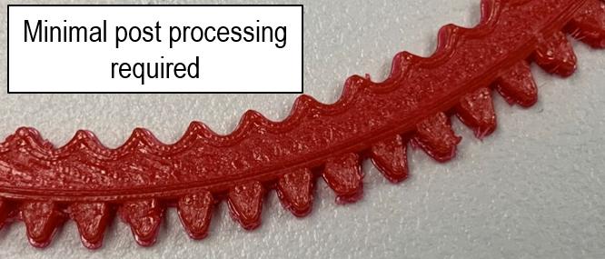 3D Printing TPU Gears