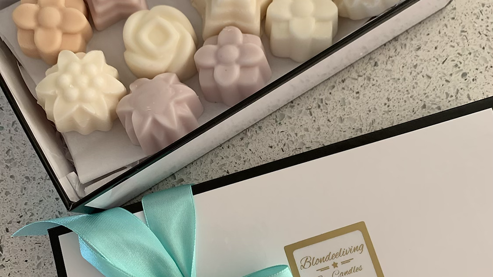 Scented Wax Melts Deluxe single Gift Box