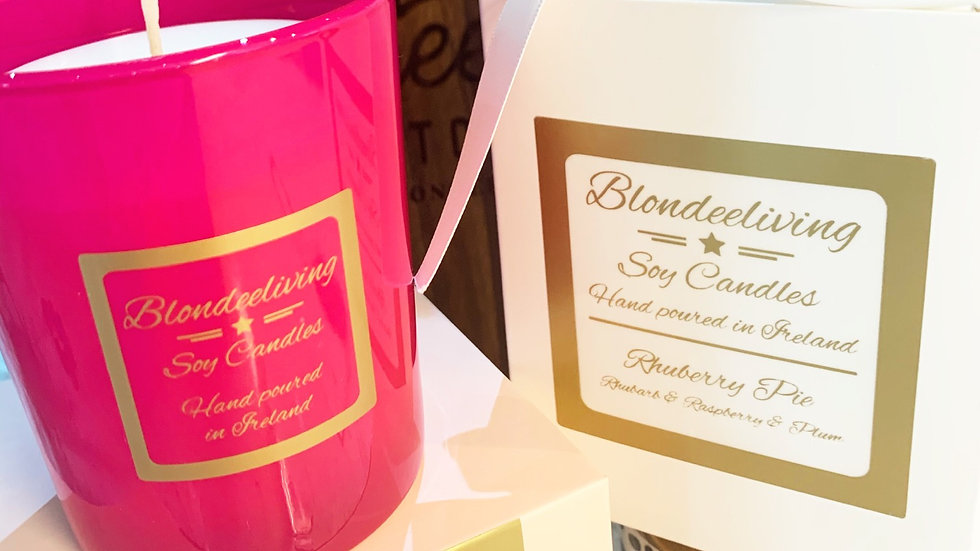 Rhuberry Pie Soy Candle