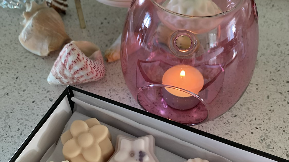 Scented Wax Melts Deluxe Double Gift Box