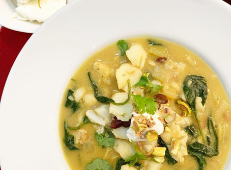 Coconut, Lime & Ginger Fish Stew