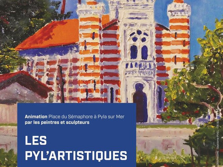 Exposition estivale : retrouvez moi à la Promenade des Arts au Pyla !