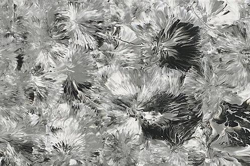 Nuances de gris fleuries