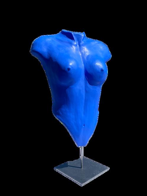 Buste bleu