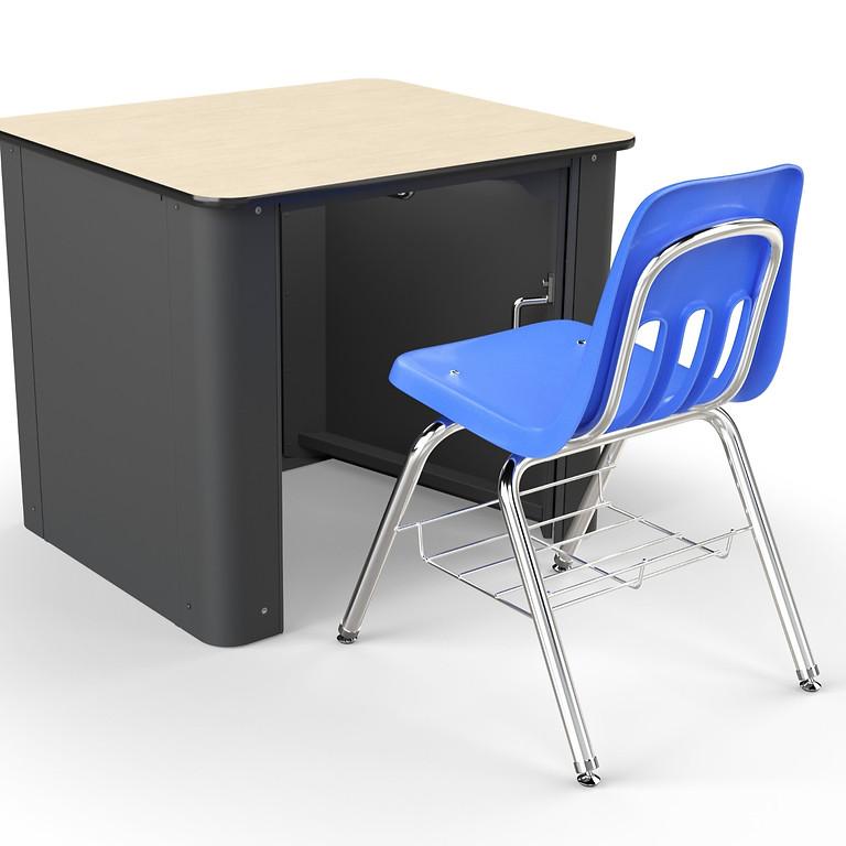 Safe Space Desk Revealing