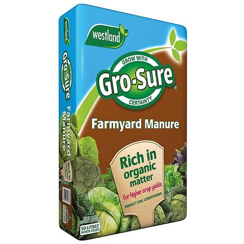 Gro-Sure Farmyard Manure.