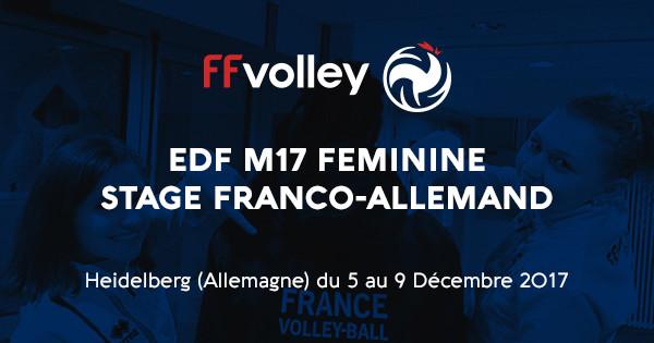L'EQUIPE DE FRANCE M17 FEMININE SE PREPARE POUR SON TQCE!