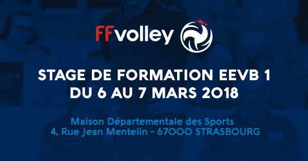 FORMATION REGIONALE D'EDUCATEUR EN ECOLE DE VOLLEY-BALL (EEVB 1)