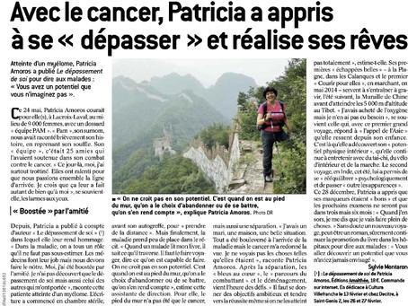 Article paru sur le Progrès Lyon du 10 Février 2016