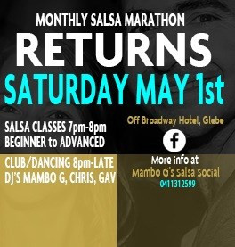 Sat Socials Return 1st May 2021!