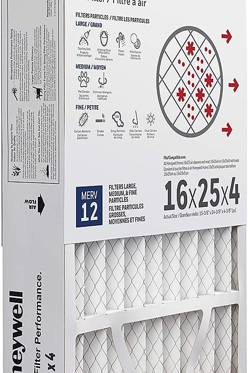 Honeywell - 16x25x4 - Merv 11