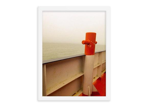 Drummond Island Ferry Framed Poster Print