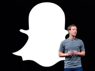 Um breve histórico da briga entre Facebook e Snapchat