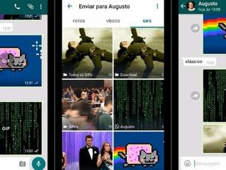 WhatsApp já conta com envio e recebimento de GIFs da web; veja como usar