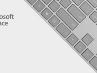 Veja a primeira imagem do novo teclado Surface para desktops da Microsoft