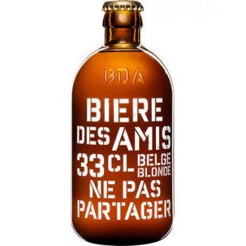 BIERE DES AMIS Bière Belge Blonde 33CL