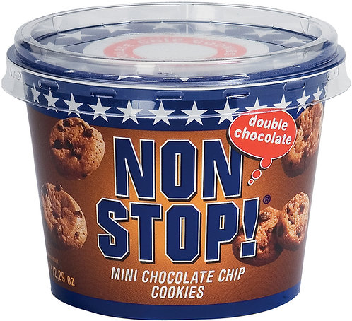 NON STOP Mini Chocolat Chips Cookies 65GR