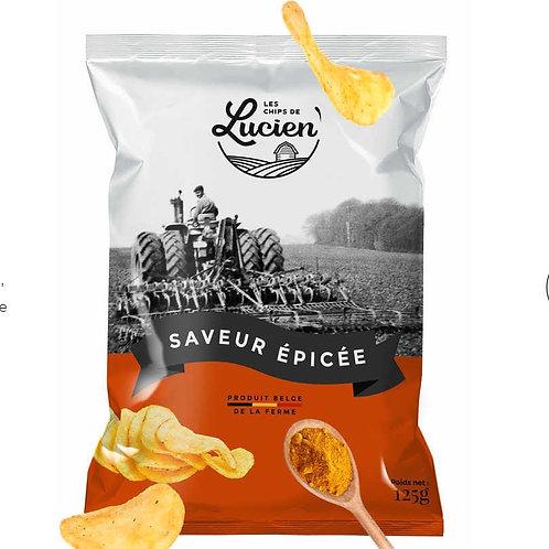 Les Chips de Lucien - Saveur Épicée