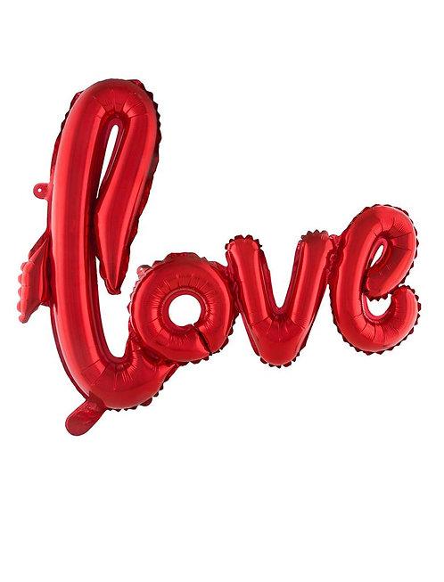 FOIL BALLOON LOVE