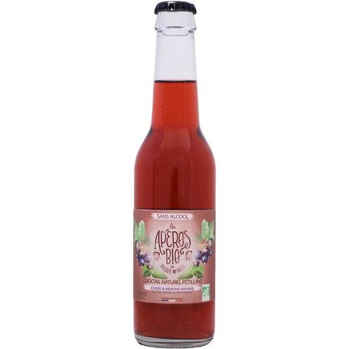 Apéro Bio Sparkling Cocktail Cassis & Peppermint 0,0°