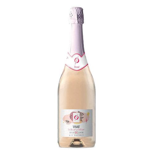 VINA'0° alcohol free Rosé Sparkling Organic