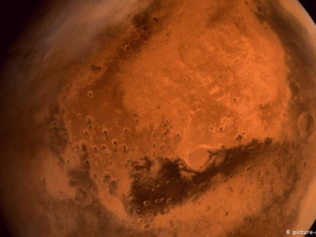مياه المريخ أسفل السطح