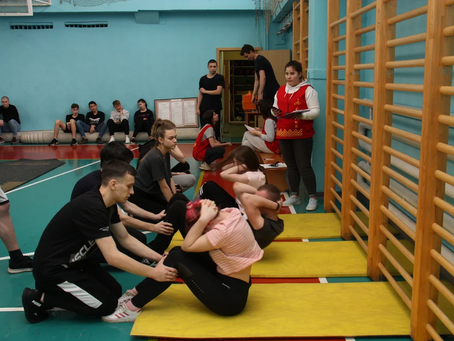 Состоялись городские соревнования по полиатлону