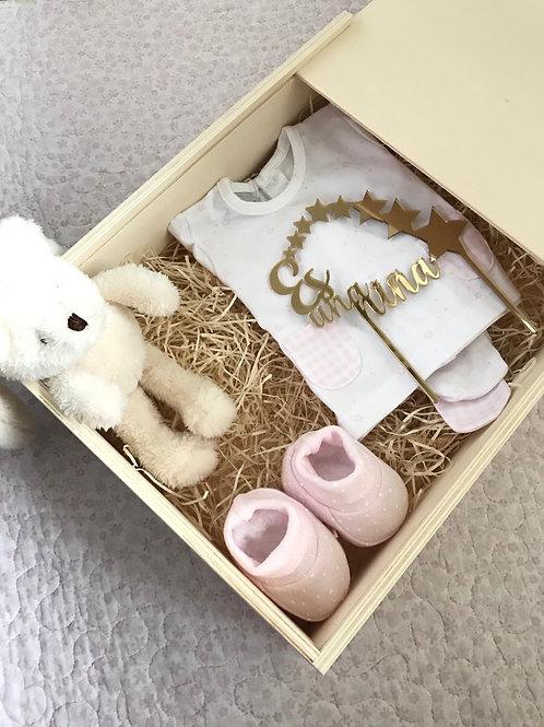 Caja personalizada premium niña Vichy