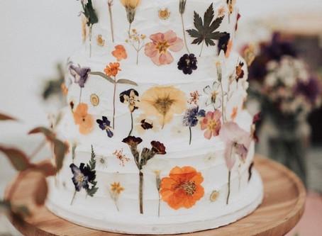 Tendencias de pasteles de boda 2020-2021