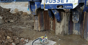 VIBRATION MEASUREMENTS FROM SHEET PILING