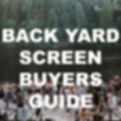 back yard cinema screen buyers guide