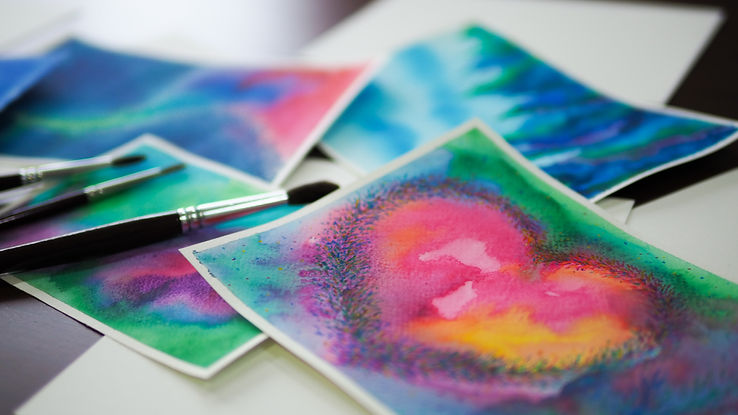 watercolor painting art abstract focus on heart flower floral.jpg