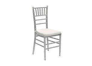 silver chiavar chair rentas in Toronto and the GTA