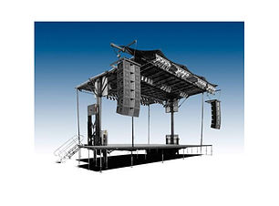 Toronto Mobile Stage Rentals.  Stageline SL50, SL75, SL100, SL250, SL260 Stage Rentas.