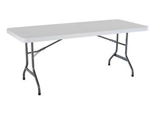 Eight Foot Rectangular Table Rentals In Toronto & The GTA