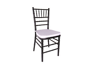 black chiavari chair rental in Toronto and the GTA