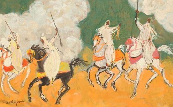 Hassan El Glaoui Moroccan Fantasia
