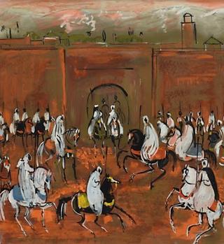 Hassan El Glaoui Git to Hubert de Givenc