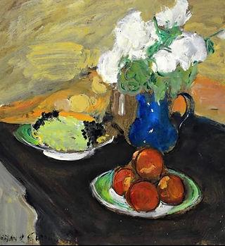 Still painting - Hassan El Glaoui (Artor