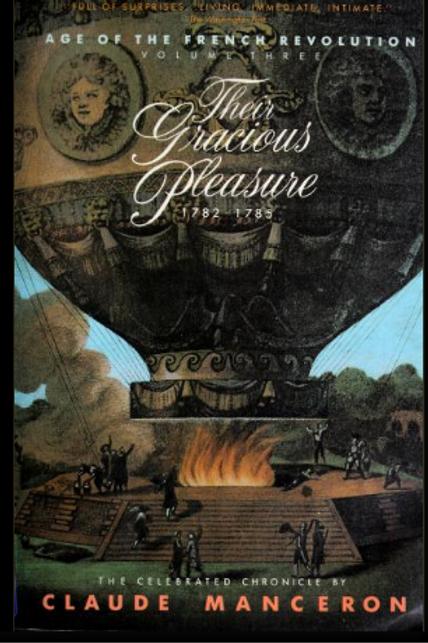 Their Gracious Pleasure 1782-1785  Book 3
