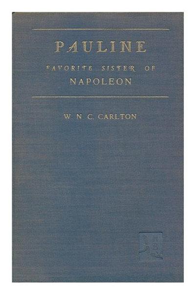 Pauline, favorite sister of Napoleon