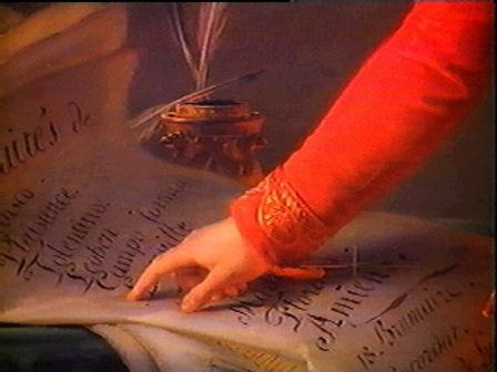 Napoleon's hand