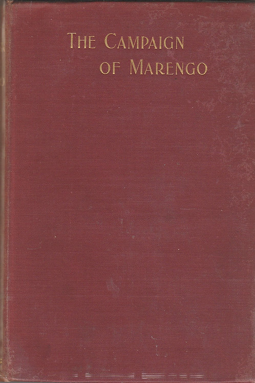 The Campaign of Marengo