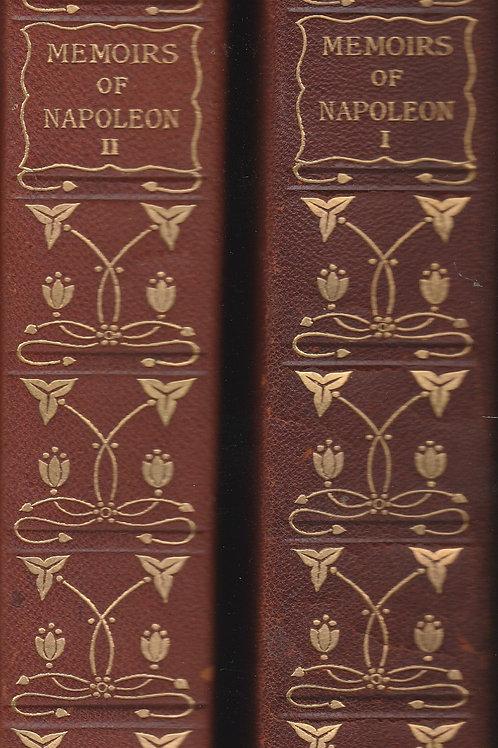 Memoirs of Napoleon Bonaparte 4 vols in 2