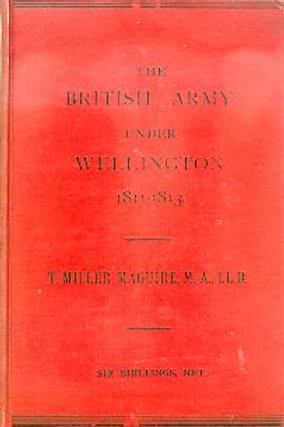 The British Army under Wellington, 1811-1814