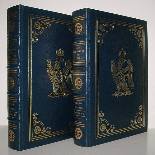 Campaigns of Napoleon Deluxe Leather 2 vols