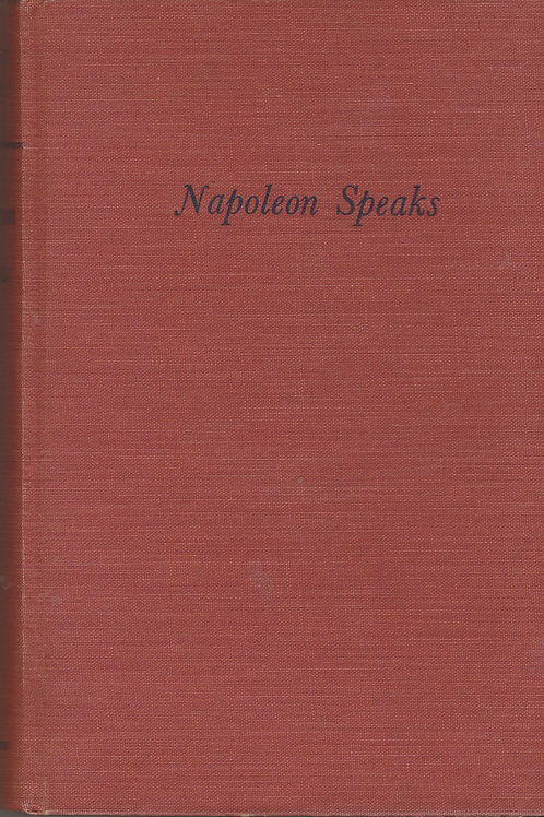 Napoleon speaks