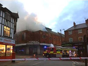 Another Fire at the Hippodrome
