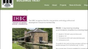 IHBC welcomes Derbyshire HB Trust School on Buildings at Risk