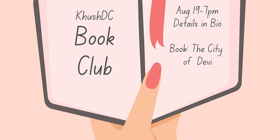 KhushDC Book Club August